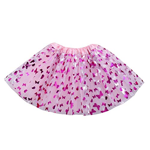 Sameno Baby Girls Kids Halloween Princess Party Butterfly Tutu Ballet Skirts Fancy Party Skirt (A) (A)]()