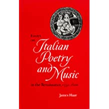 Essays on Italian Poetry and Music in the Renaissance, 1350-1600