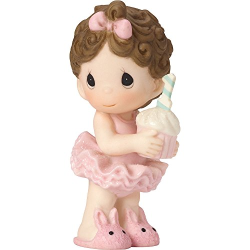 Precious Moments 162005 Happy Birthday Precious, Bisque Porcelain Figurine