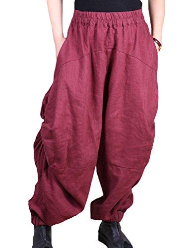 MatchLife - Pantalón - Pantalones - para mujer Rosso
