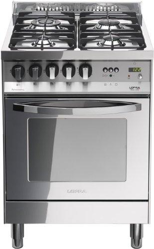 Lofra PL66GVT/C Cucina a Gas, Acciaio: Amazon.it: Grandi ...