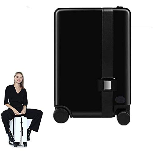 WSJTT Intelligent Electric Luggage Automatically Follow The Step Of Riding Men and Women Suitcase Remote Control Trolley