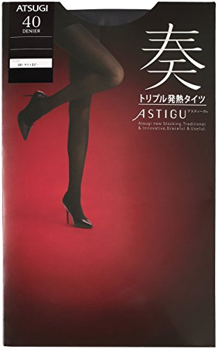 ATSUGI 아츠기 타이츠 ASTIGU (아스티구) [연주] 트리플 발열 스타킹 40 데니아