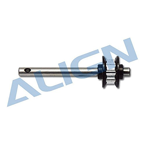 Align T Rex 600 Metal Belt Drive Tail Rotor Shaft Assembly