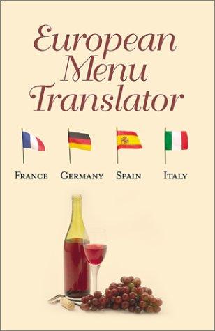 Read Online European Menu Translator pdf epub