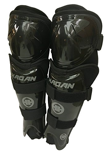 "Hagan H-7 Hockey Adjustable Shin Pads (Senior 13""-15"")"