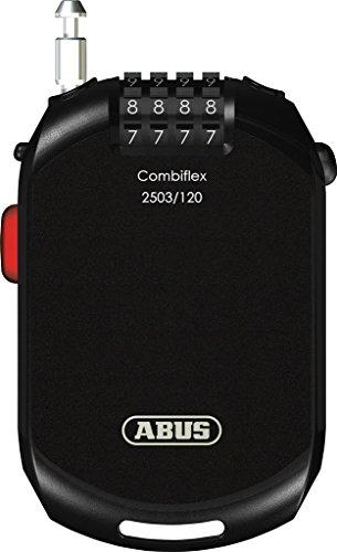 ABUS Combiflex 2503 speciaal slot – geschikt als skislot, bagagebeveiliging, helmbeveiliging – 120 cm lange staalkabel…
