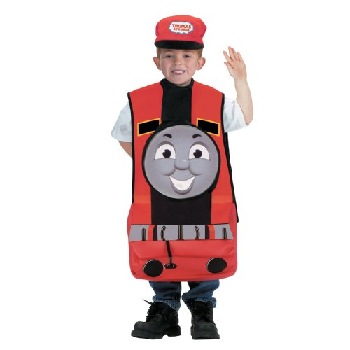 Disguise Inc Boys Thomas The Tank Engine James Child Costume Red 4-6 (Thomas And Friends Costumes)