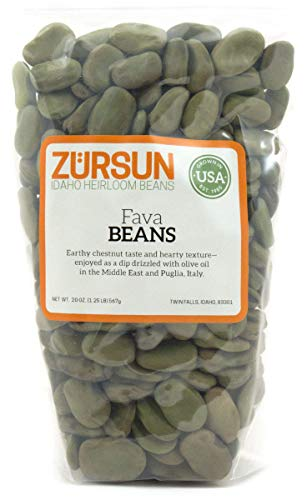 Zursun Heirloom Dry Fava Beans 20 oz