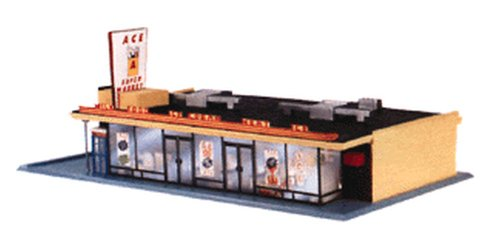 Life-Like Trains HO Scale Building Kits - Ace Super Market