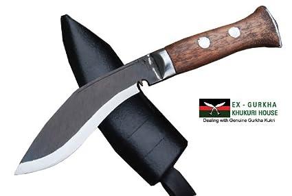 Amazon.com: Genuine Gurkha Full Tang Blade Kukri – Cuchillo ...
