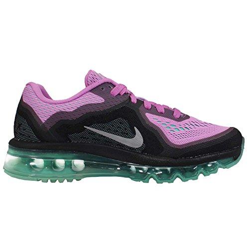 Nike Air Max 2014 Scarpe Da Corsa Da Donna Lt Magenta / Argento Riflettente-iper Turchese
