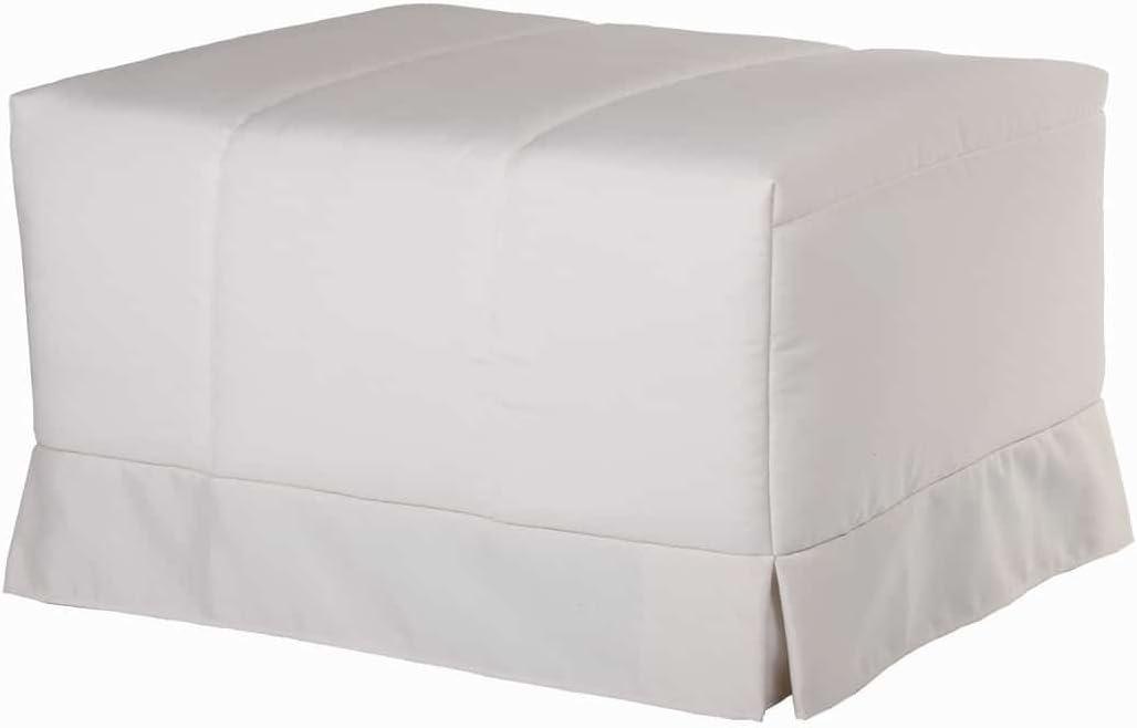 Quality Mobles - Cama Plegable Individual de 90x190 cm Funda Color Natural