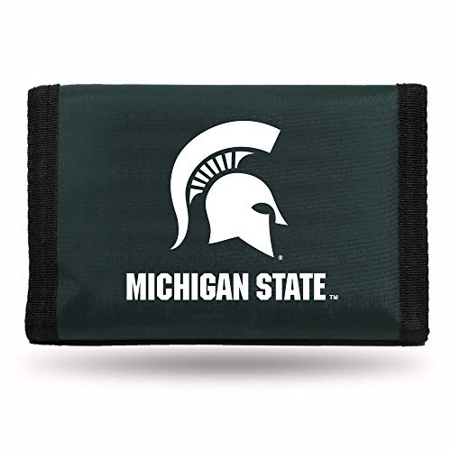 Rico Industries NCAA Michigan State Spartans Nylon Trifold Wallet