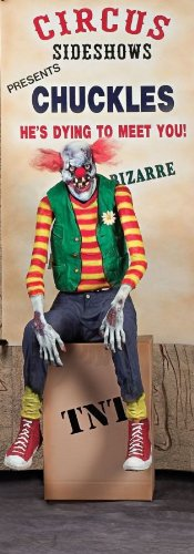 Chuckles Clown Halloween Animated