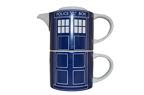 Doctor Who Tardis Door Panel Tea for One