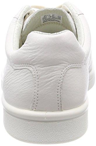 Scarpe Ginnastica Uomo ECCO White Basse Kallum da Bianco Fwqx45P