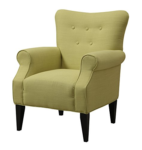 Emerald Home U360-05-01 Lydia Accent Chair, Citrine