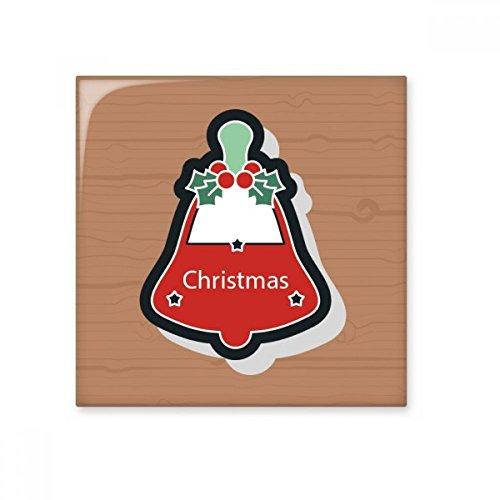 Christmas Bells Christmas Cartoon Icon Ceramic Bisque Tiles Bathroom Decor Kitchen Ceramic Tiles Wall Tiles