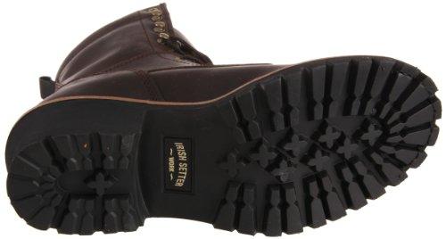Irish Setter Mens 83808 8 Steel Toe Work Boot Brown 3D7oFN5KGM