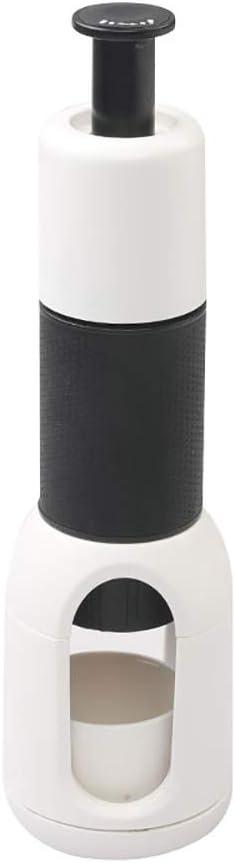 Lcme Nueva Mano Portable Cafetera exprés, automático Mini-Express con el Material sin BPA para Rich & Grueso Manual Express con los Viajes Compacto Cafetera: Amazon.es: Deportes y aire libre
