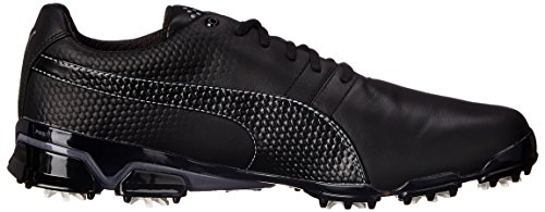 PUMA Mens Titantour Ignite Golf Shoe Black/Steel Gray pMWKq