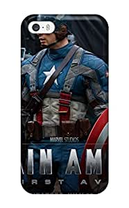 New Shockproof Protection Case Cover For Iphone 5/5s/ 2011 Captain America Case Cover