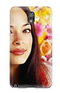 Fashion Protective Kristin Kreuk Canadian Tv Actress Case Cover For Galaxy Note 3