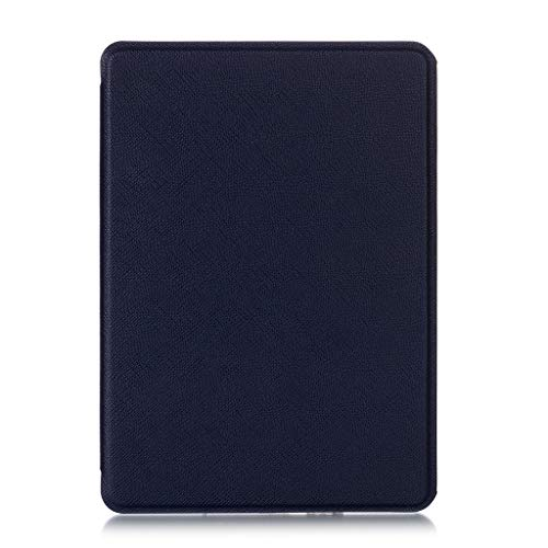 geneic Cross Pattern Ultra-Thin E-book Case Magnetic PU Leather Flip Stand Protective Cover for Amazon All-New Kindle…