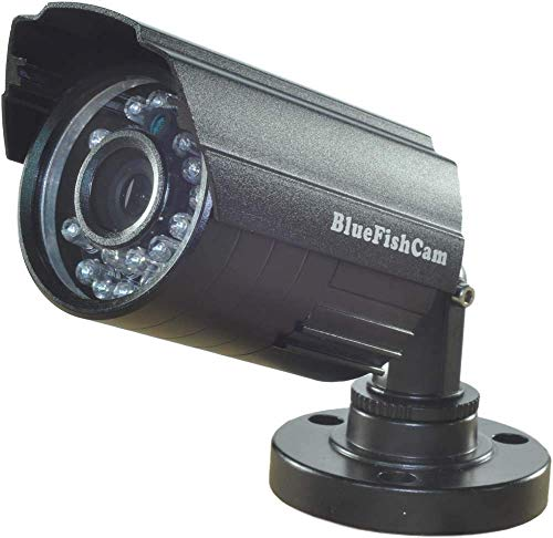 BlueFishCam 1.0MP AHD 720P Color CMOS Chips 24 LEDs Infrared AHD CCTV Camera Wide Angle 3.6mm Lens Waterproof