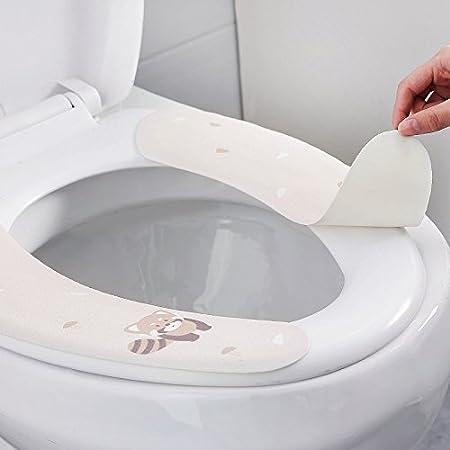 Amazon.com: JYPHM - Funda para asiento de inodoro, diseño de ...
