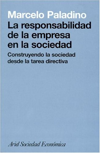 Responsabilidad de La Empresa En La Sociedad (Spanish Edition) ebook