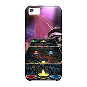 Hot Fashion IZwhbjS7403oTrbV Design Case Cover For Iphone 5c Protective Case (guitar Hero)