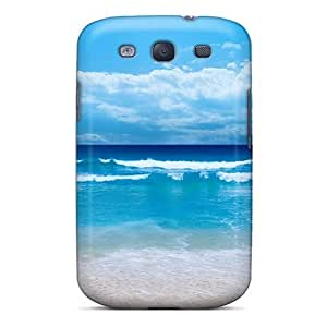 First-class Case Cover For Galaxy S3 Dual Protection Cover Small Waves