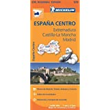 Extremadura, Castilla La Mancha, Madrid - Michelin Regional Map 576: Map (Michelin Regional Maps)