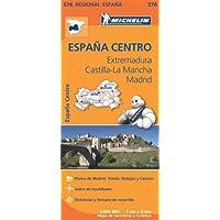 Carta stradale. Spagna/Estremadura-La Mancha