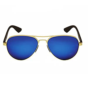 Aoron Men's Adult Aviator Sunglasses UV400 Polarised