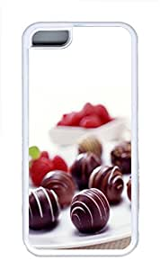 iPhone 5C Case, iPhone 5C Cases - Chocolate snack Polycarbonate Hard Case Back Cover for iPhone 5C¨C White