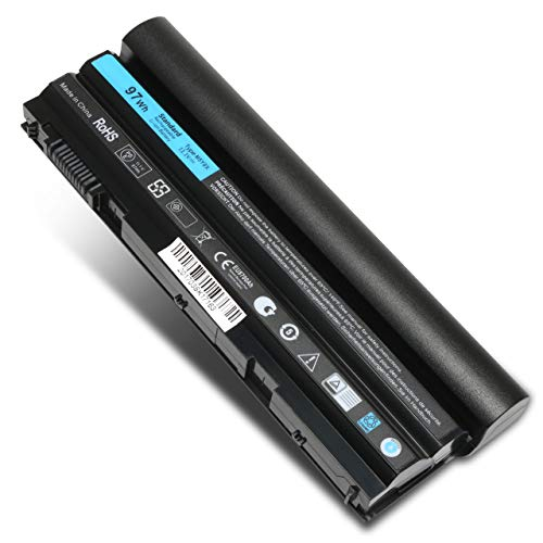 11.1V 97Wh 9cell Replacement Laptop Battery for Dell Latitude E6420 E6520 E6430 E6440 E6530 E6520 E5420 E5520 E5430 E5530, Compatible P/N: 2P2MJ M5Y0X T54FJ PRV1Y HCJWT 7FJ92 312-1325 312-1165