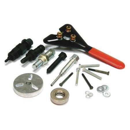 Westward 1YMG5 A/C Clutch Tool Kit, Installer/remover
