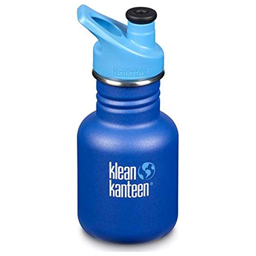 Klean Kanteen Kid's Kid Classic 12oz W/Sport Cap (Surfs Up)