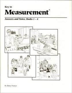 Key to measurement answers and notes books 1 4 betsy franco key to measurement answers and notes books 1 4 fandeluxe Gallery