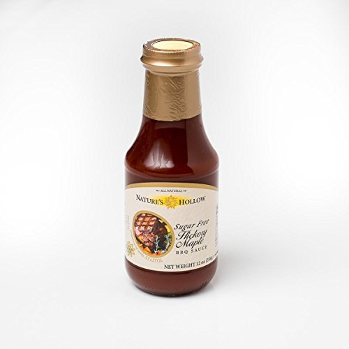Nature's Hollow Sugar-Free Hickory Maple BBQ Sauce, 12 Ounce