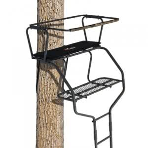 Amazon Com Big Game Treestands Guardian Two Man Ladder