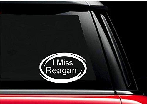 I Miss Reagan - 2016 - Election - Republican - Decals - Stickers - bumper - window - (Miss Reagan ()