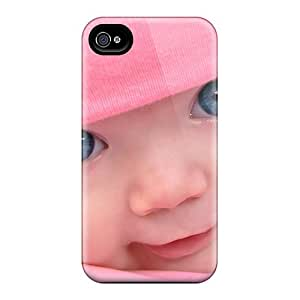 Anti-scratch And Shatterproof People Children A Girl In A Pink Cap Phone Cases For Iphone 6/ High Quality Cases