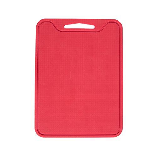 Unicook Flexible Silicone Cutting Board-Red,11.5