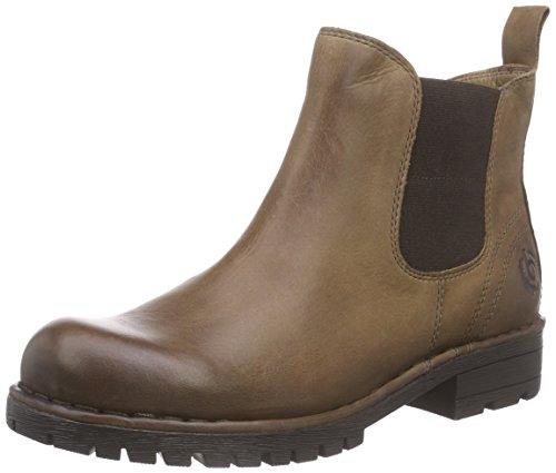 bugatti J71381O - botas de cuero mujer marrón - marrón (marrón 600)