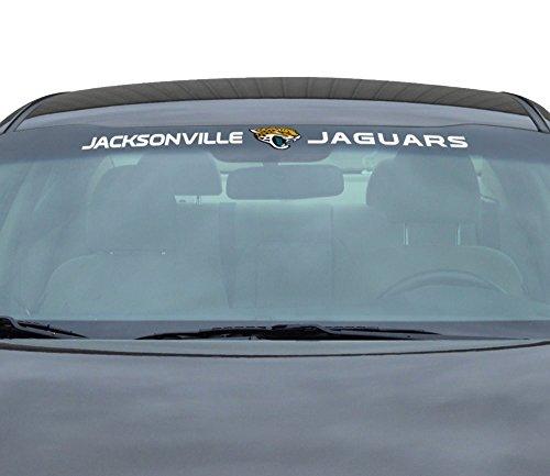 NFL Jacksonville Jaguars Windshield Decal, Teal, ()