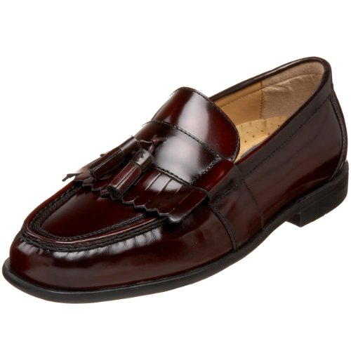 Nunn Bush Men's Keaton Slip-On Loafer,Burgundy,10.5 W ()